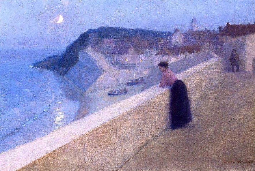 Reverie in Brittany by Lionel Walden