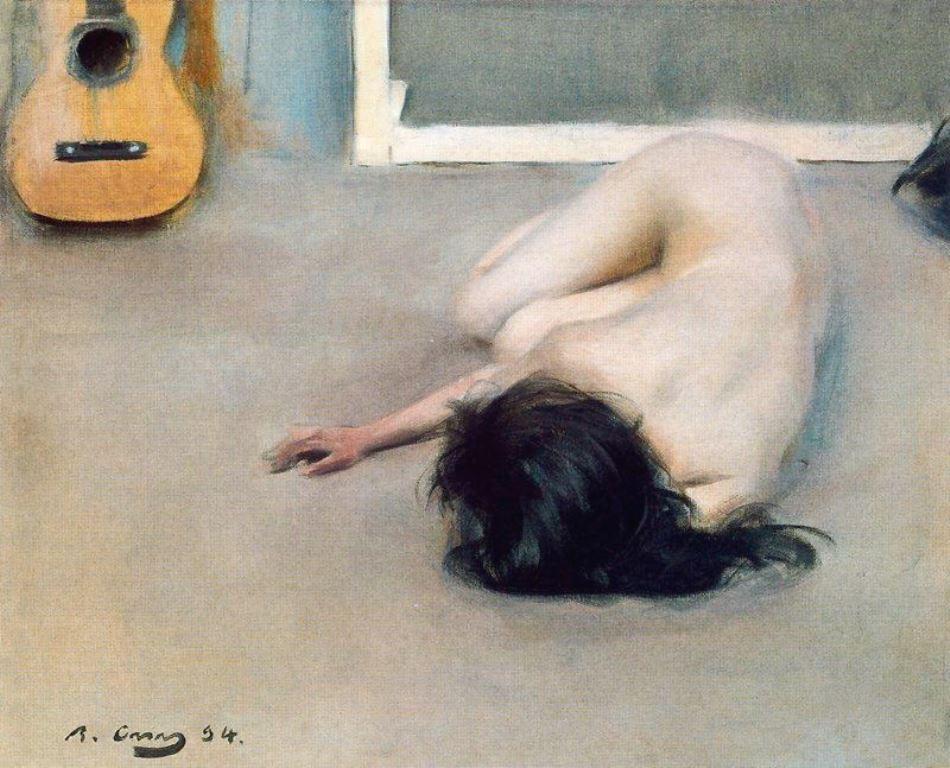 Ramon Casas i Carbó. Nude 1894-1904